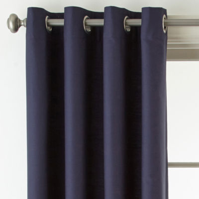 JCPenney Home Verona Light-Filtering Grommet-Top Curtain Panel