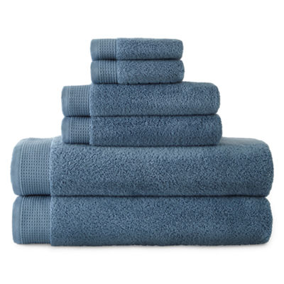 Liz Claiborne Superb Microcotton 6-pc Towel Set
