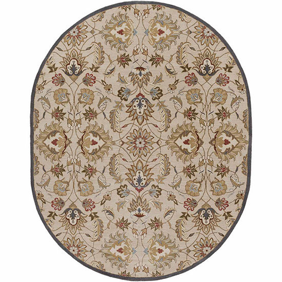 Decor 140 Galba Hand Tufted Oval Indoor Rugs