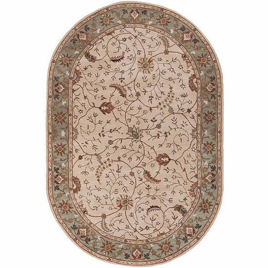 Decor 140 Elam Hand Tufted Oval Indoor Rugs