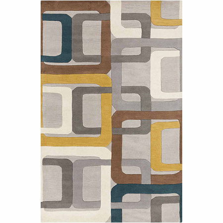 Decor 140 Garsnas Hand Tufted Rectangular Indoor Rugs, One Size , Green