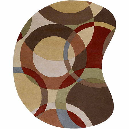 Decor 140 Gavar Hand Tufted Rectangular Indoor Rugs, One Size , Brown