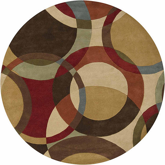 Decor 140 Gavar Hand Tufted Round Indoor Rugs