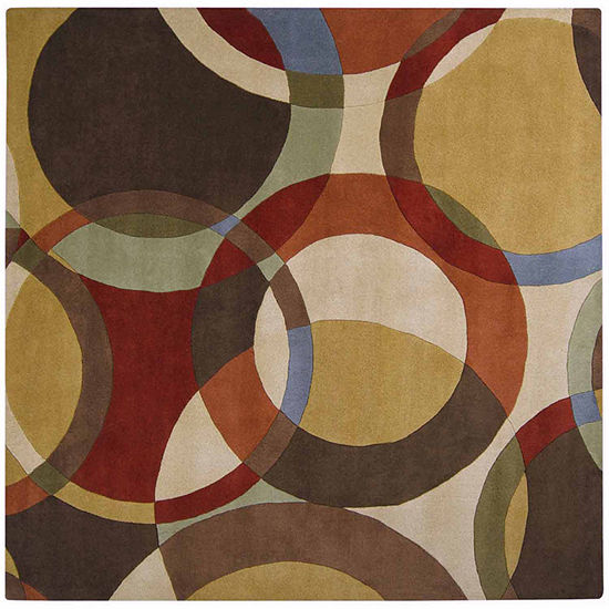 Decor 140 Gavar Hand Tufted Square Indoor Rugs