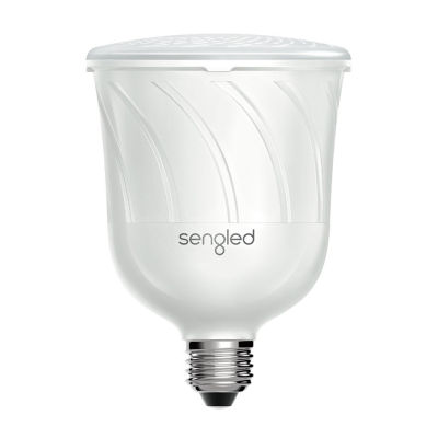 Sengled Pulse - Dimmable BR30 LED Light with Wireless JBL Bluetooth Speaker (Single) - Pearl White