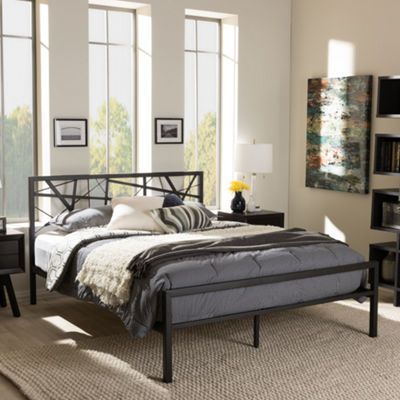 Baxton Studio Barkley Platform Bed