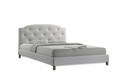 Baxton Studio Canterbury Tufted Bed