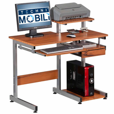 RTA Products LLC Techni Mobili Complete Computer Workstation Desk