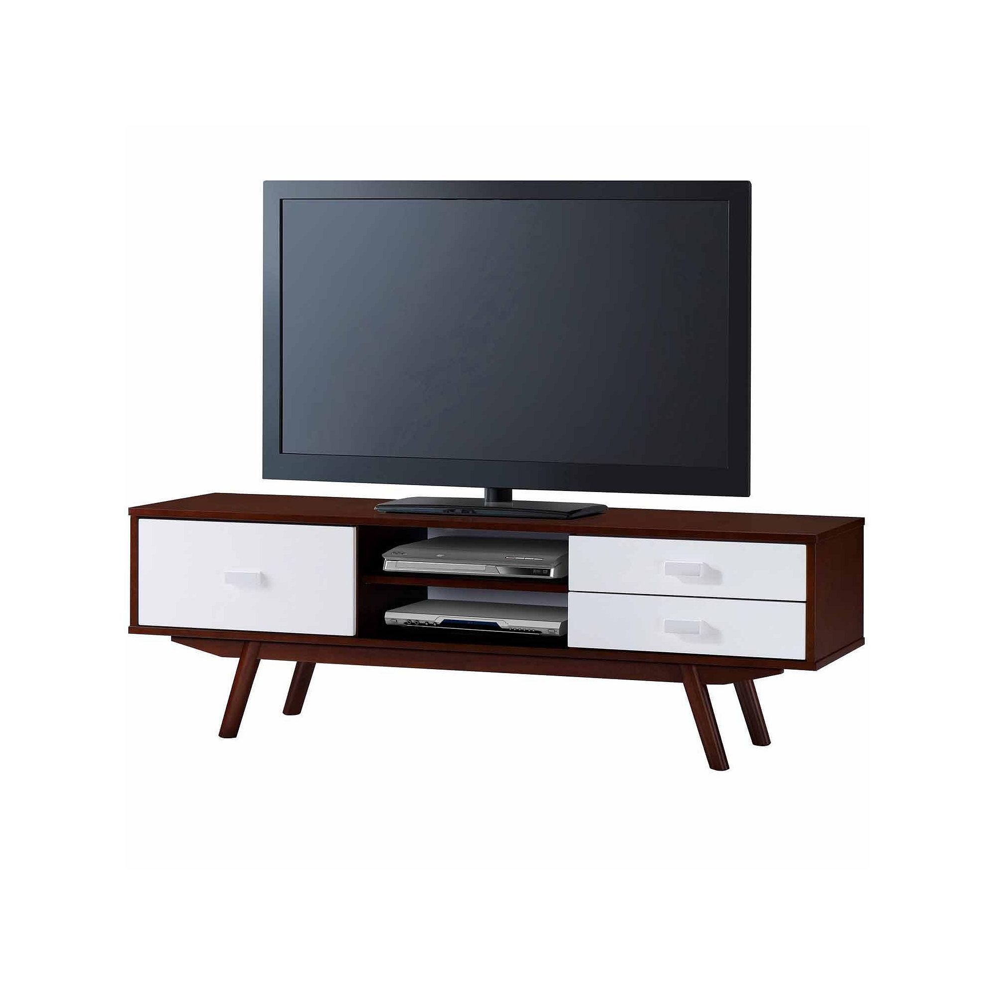 Techni Mobili Retro Wood Veneer TV Stand