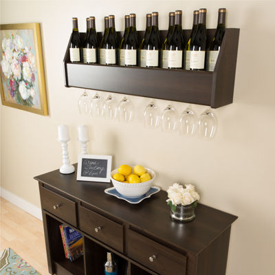 Floating Wine Cabinet