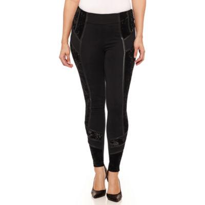 Bisou Bisou Side Velvet Pants