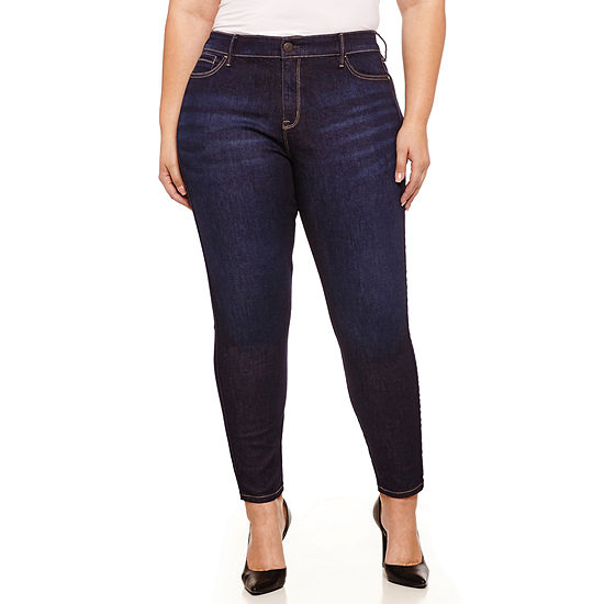 0ba372dbc79 Boutique + Skinny Jeans Plus JCPenney