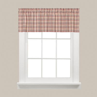 Saturday Knight Dexter Rod-Pocket Tailored Valance