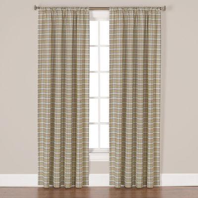 Saturday Knight Dexter Rod-Pocket Curtain Panel