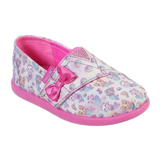 Skechers Bobs Toddler Girls Solestice 2.0 Slip-On Shoe Closed Toe