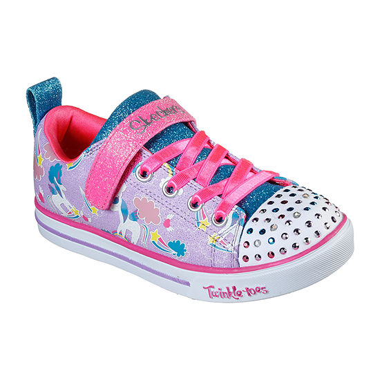 Skechers Twinkle Toes Lite Sparkle Friends Little Kid/Big Kid Girls Pull-on Sneakers