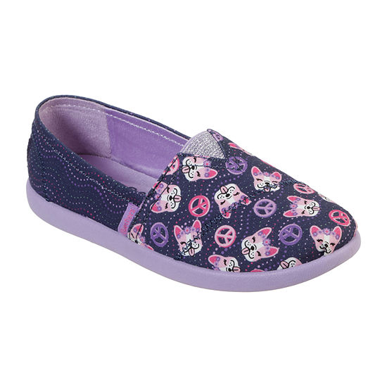 Skechers Bobs Little Kids Girls Solestice 20 Round Toe Slip On Shoe