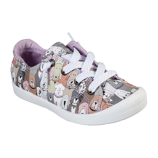 Skechers Bobs Beach Bingo Little Kids Girls Lace up Sneakers