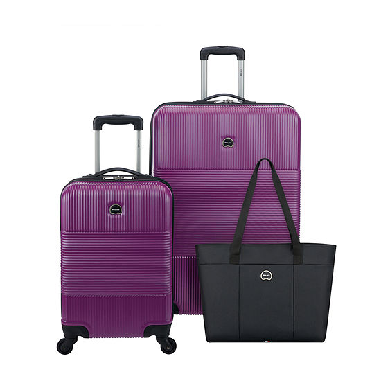 Delsey Groove DLX 3-PC Luggage Set