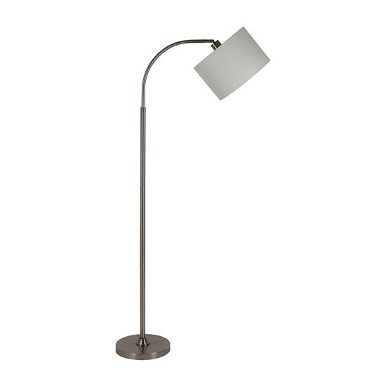 Decor Therapy Steel Floor Lamp