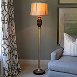 Decor Therapy Resin Floor Lamp