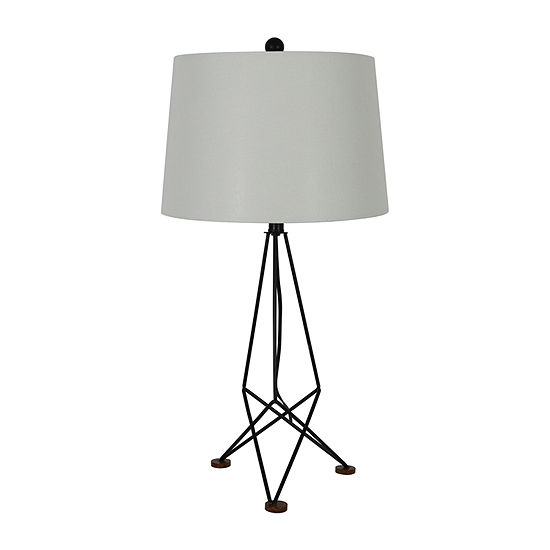 Decor Therapy Metal Table Lamp