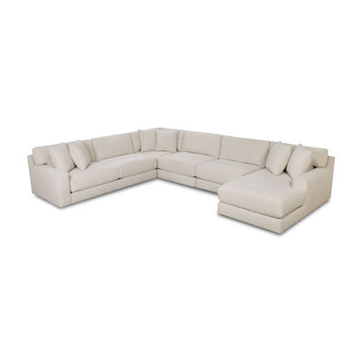 Fabric Possibilities Ponderosa 5-Pc Right Arm Chaise Sectional