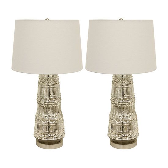 Decor Therapy 2 Pc Lamp Set