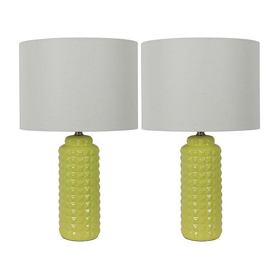 Decor Therapy 2-pc. Lamp Set