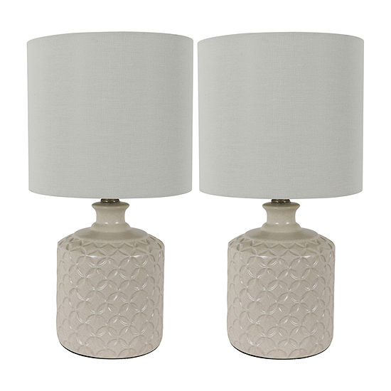 Decor Therapy 2-pc. Lamp Set