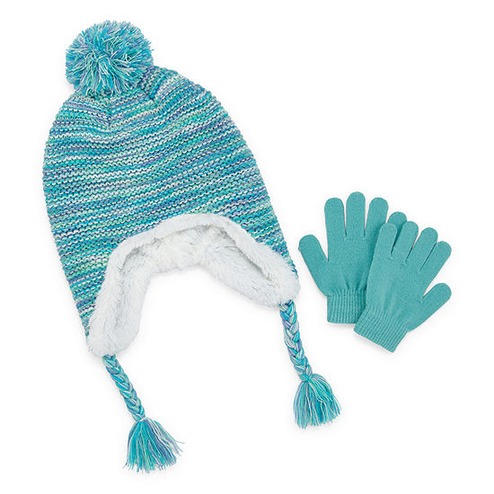 Capelli of N.Y. Girls 2-pc. Cold Weather Set-Big Kid