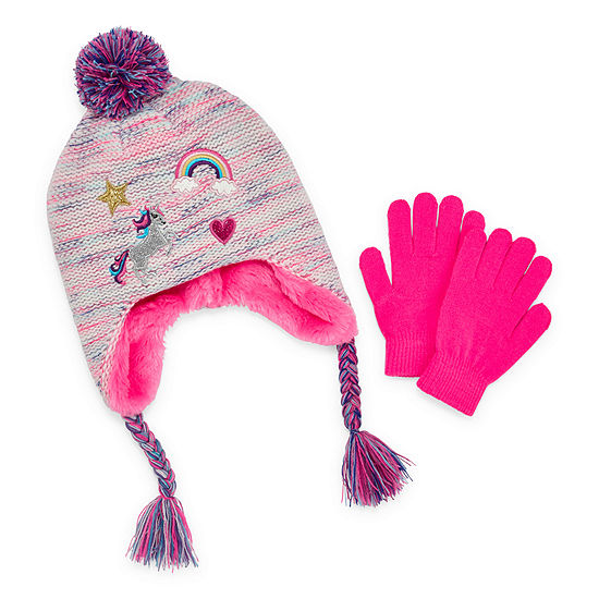 Arizona 2-pc. Cold Weather Set-Big Kid Girls