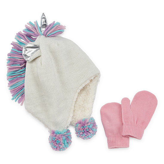 Okie Dokie Girls 2-pc. Cold Weather Set-Toddler