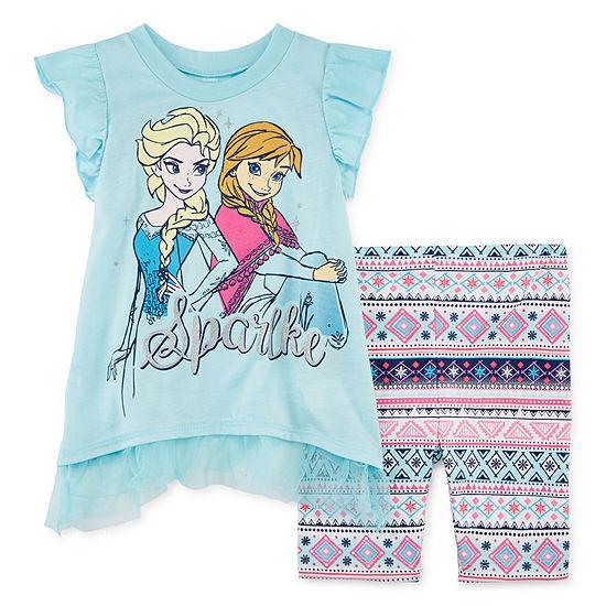 Disney's Frozen Girls 2-pc. Short Set Baby