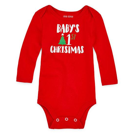 Okie Dokie Christmas Unisex Bodysuit-Baby