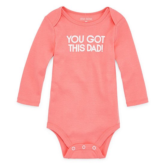 Okie Dokie Dad Bodysuit-Baby Unisex
