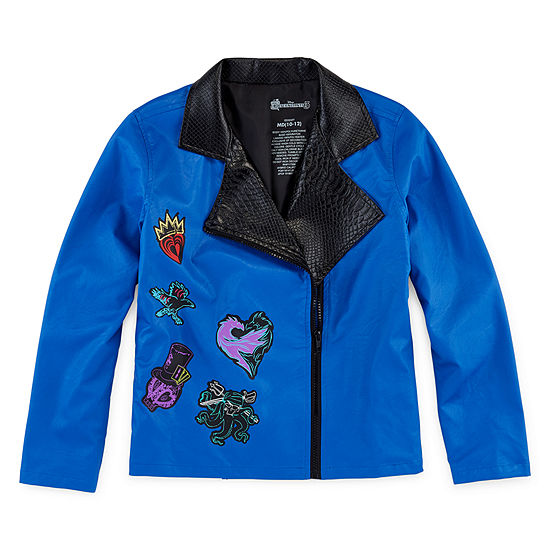Descendants 3 Girls Lightweight Motorcycle Jacket Preschool / Big Kid