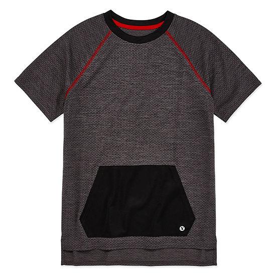 Xersion Boys Crew Neck Short Sleeve T Shirt