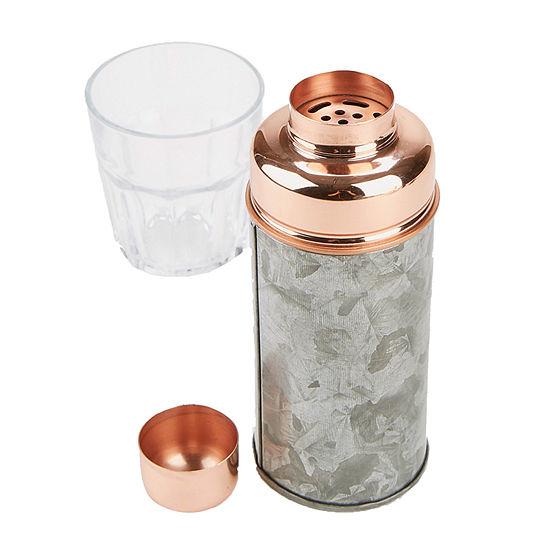 Mind Reader Metal Cocktail Shaker