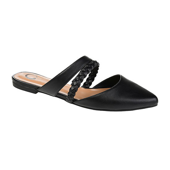 Journee Collection Womens Olivea Slip On Shoe Pointed Toe