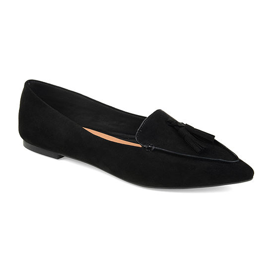 Journee Collection Womens Lindsey Loafers Slip-on Pointed Toe