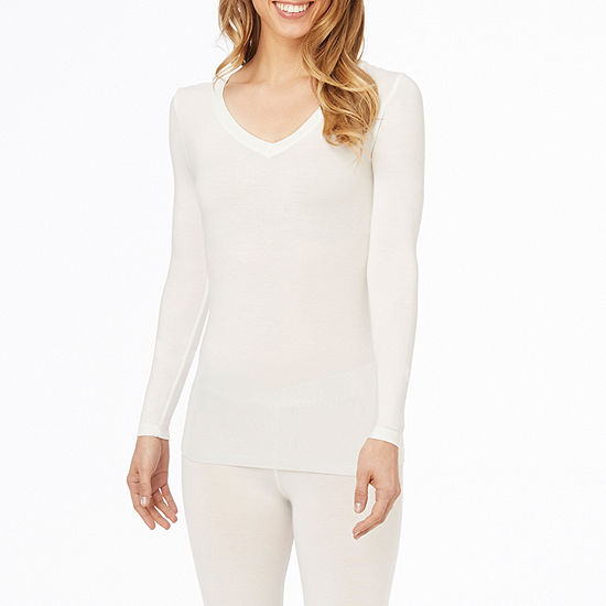 Cuddl Duds Softwear With Stretch Womens-Tall Top