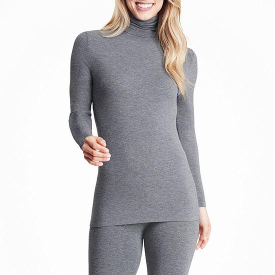 Cuddl Duds Softwear With Stretch Womens Pajama Top