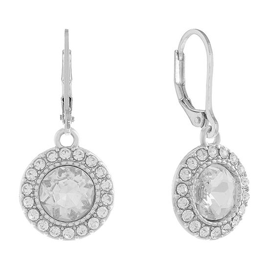 Monet Jewelry Simulated Round Drop Earrings