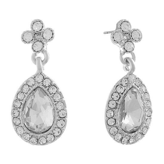 Monet Jewelry Pear Drop Earrings