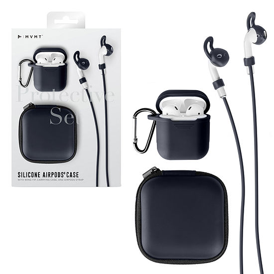 MVMT 5 in 1 Airpod Accessories Set Compatible with Airpods 1 & 2