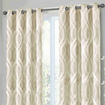 Eclipse Caprese Blackout Grommet-Top Curtain Panel