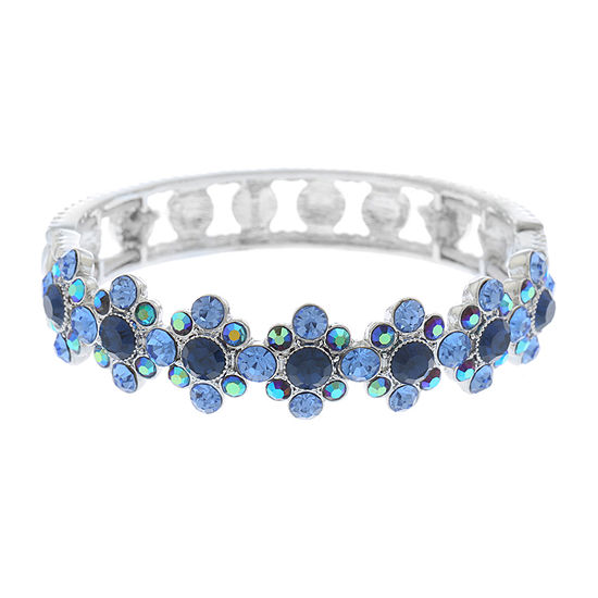 Monet Jewelry Simulated Blue Stretch Bracelet