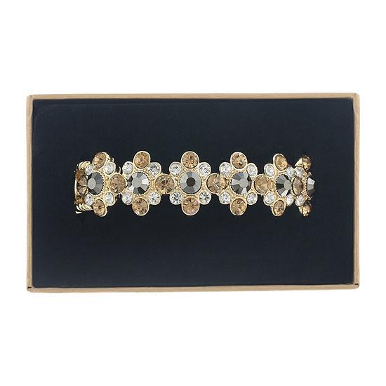 Monet Jewelry Simulated Multi Color Stretch Bracelet