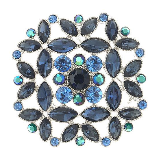 Monet Jewelry Simulated Blue Pin